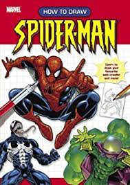 draw spider man draw steve behling 9780816774470