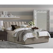 Bedroom Furniture With Storage Under Bed Bedroom Beds Bed Frames Polo Bedframe With 2 Drawer
