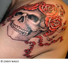 roses and skull tattoos photos pictures and sketches tattoo