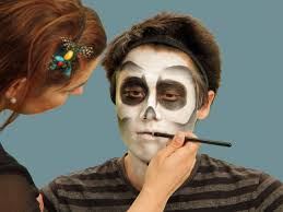 Eyeliner Halloween Makeup by Halloween Makeup Tutorial Skeleton Hgtv