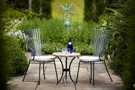Metal Garden Furniture Metal Bistro Chair For Outdoor Furniture Home Decorating Ideas