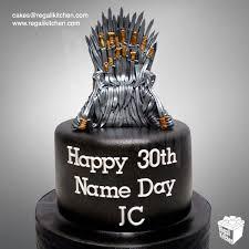 iron cake topper of thrones iron throne cake cakes by the regali kitchen