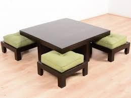remarkable coffee table with stools with design of coffee table