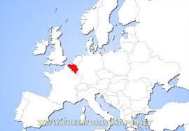 map and belgium where is belgium located on the world map