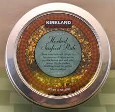 Mediterranean Kitchen Kirkland - kalyn u0027s kitchen picks kirkland herbed seafood rub kalyn u0027s kitchen