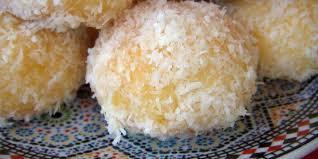 cuisine choumicha arabe boules à la noix de coco facile choumicha cuisine marocaine