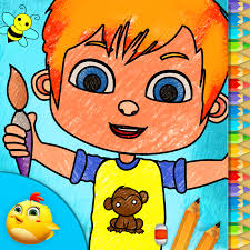 toddler kids color and draw gameiva