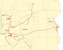 Wisconsin Railroad Map by Minnesota Commercial Railway Wikipedia
