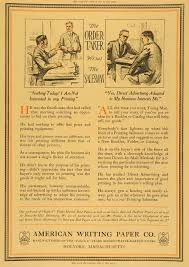 writing printing paper printing industry page 3 period paper 1913 ad american writing paper company holyoke ma original advertising pa1