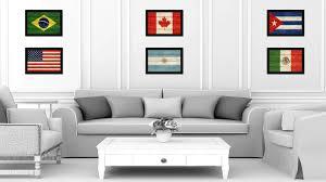 texture home decor argentina country texture flag rustic vintage giclée print home