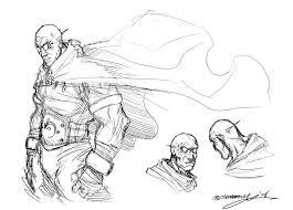 inkthinker rough sketch inquisitor mistborn art 17th shard