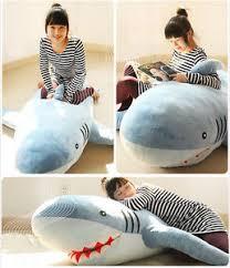 giant bean bag sofa 1mlarge giant huge shark stuffed animal plush soft toy pillow sofa