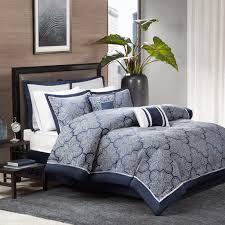 Grey Comforters Queen Bedding Set Blue Comforter Sets California King Beautiful Navy