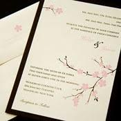 Cherry Blossom Wedding Invitations Modern Wedding Invitations Unique Wedding Invites Stylish