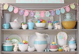 happy easter decorations bright easter hutch decor fynes designs fynes designs