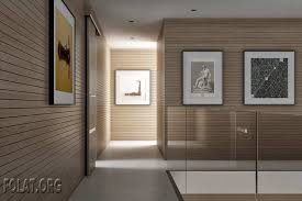 wall partitions design with wooden sliding door design for luxury