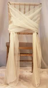 Chiffon Chair Sash Chair Ties U0026 Bands