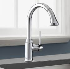 hans grohe kitchen faucets hansgrohe 04215 talis c pull kitchen faucet with higharc