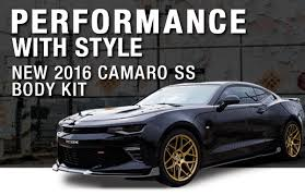 camaro kits 2016 2018 camaro kits side rockers front splitters rear diffusers