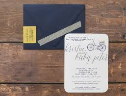 Gift Card Baby Shower Invitations U0026chloe Custom Design Bicycle Baby Shower Invitations