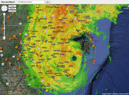 Weather Map Symbols Hurricane Irene Not Packing Much Of A U201cpunch U201d So Far Watts Up