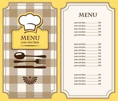 simple menu template free simple menu template free invitation template
