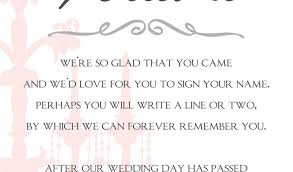 how to write a wedding program wedding guest book sign template free printable wedding