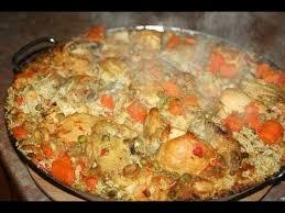 cuisiner une paella paella méditerranéenne mediterranean paella البايلا