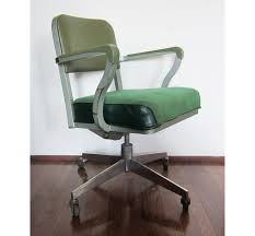 Closet Chairs Vintage Green Steelcase Rolling Computer Office Chair 185 00