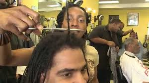 how to cut dreadlocks off dan brown the barber after 14 years