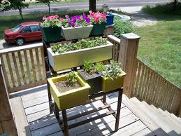 Standing Planter Box Plans by Herb Garden Planter Box Ideas Home Outdoor Decoration