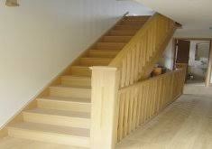 beautiful oak stairs poly ed red oak floors and bm revere pewter