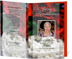 images of funeral programs funeral programs funeral handouts programs for funerals