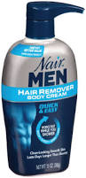 body cream for men nair