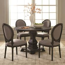 Pedestal Tables And Chairs Scott Living Dayton Traditional Pedestal Table And Chair Set