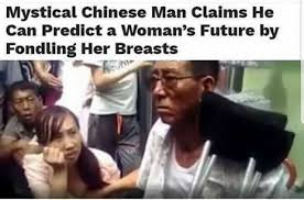 Chinese People Meme - dopl3r com memes mystical chinese man claims he can predict a