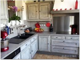 cuisine en chene repeinte relooking d u0027une cuisine esprit industriel renov cuisine
