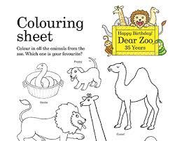 happy birthday dear zoo