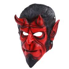 Hellboy Halloween Costume 2017 Party Christmas Cosplay Hellboy Halloween Mask Dance