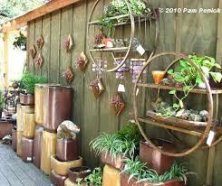 Garden Wall Decoration Ideas Winsome Design Garden Wall Decor Or Decoration Ideas With