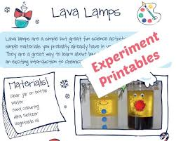 lava l science fair project experiment printables science sparks