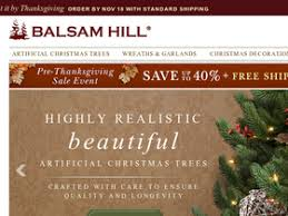 balsam hill coupons coupon codes and deals retailsteal