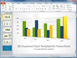 powerpoint graph templates free thermometer chart powerpoint