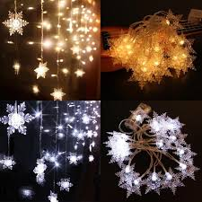 aliexpress buy 2m 20 led snow string lights