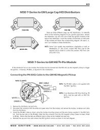 hei distributor wiring diagram best of awesome msd distributor