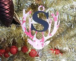 initials ornament etsy