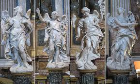 Angel Sculptures Baroque Angels In The Streets And Churches Of Rome