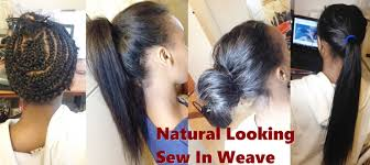 best way to sew in a weave for long hair how to natural looking sew in weave youtube