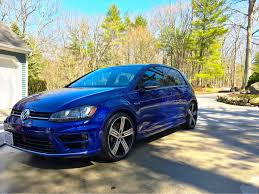 new lapiz blue loaded golf r golfmk7 vw gti mkvii forum vw