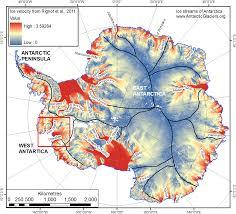 Map Of Antarctica Pine Island Glacier